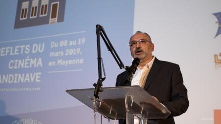 Imad Makhzoum, directeur d'Atmosphères 53.