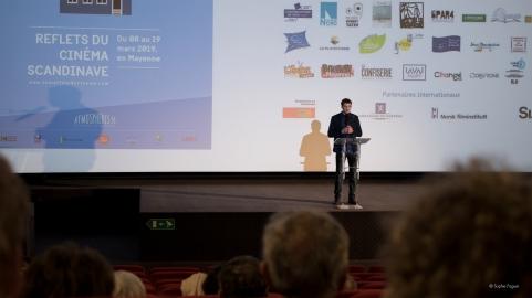 Antoine Licoine, programmateur chez Atmosphères 53.