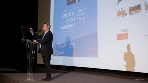 Didier Pillon, pour la mairie de Laval.