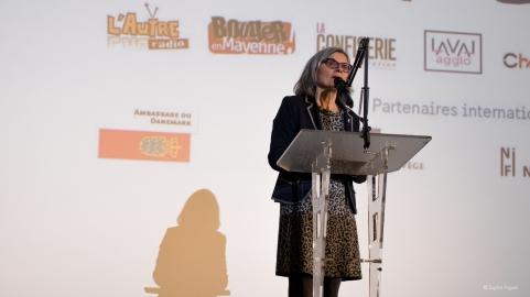 Régine Catin,pour la Région Pays-de-la-Loire.