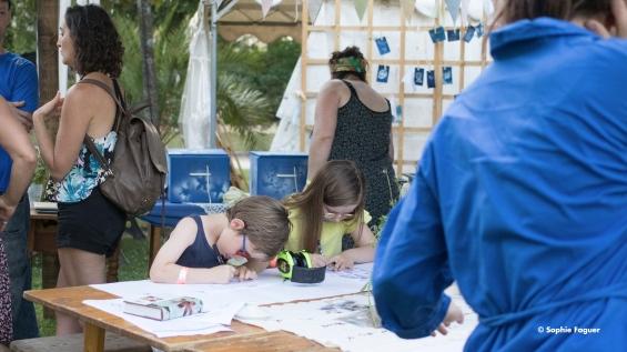 Atelier cyanotype